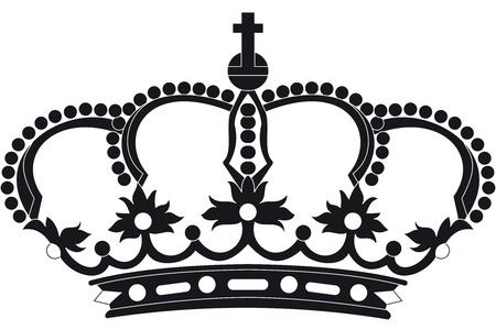 queen diamonds: european corona Vettoriali