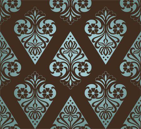 retro wallpaper Stock Vector - 13872397