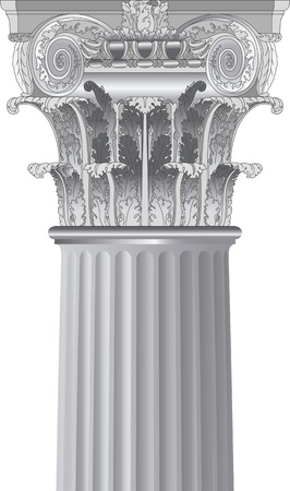 classic column Stock Vector - 14099643