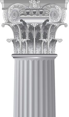 corinthian: classic column
