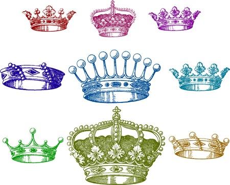 tsar: old crown set