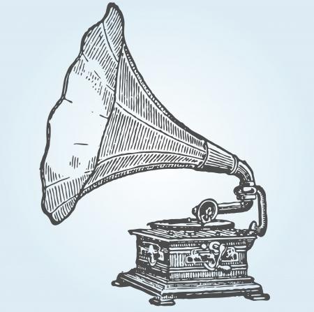 retro grammofoon
