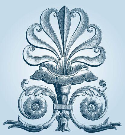 royal french lily symbols: fleurs-de-lis  Lis flower