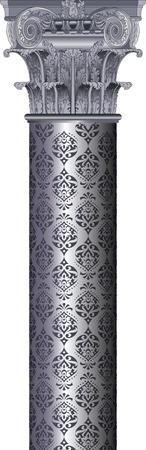 classic column Stock Vector - 14286362