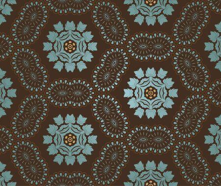 retro wallpaper Stock Vector - 14283946