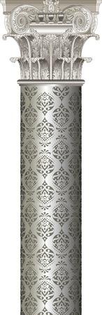 column Stock Vector - 14419386