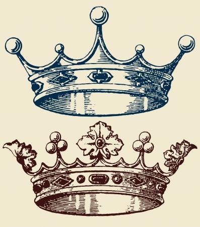beauty queen: old crown set
