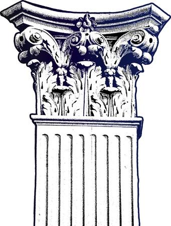 corinthian: column