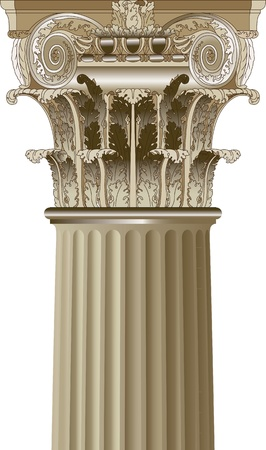 greek column: column