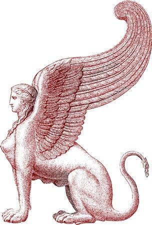Sphinx statua