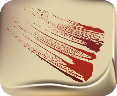 blood stain Stock Vector - 14501810