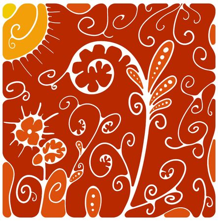 Floral pattern Stock Vector - 14501768