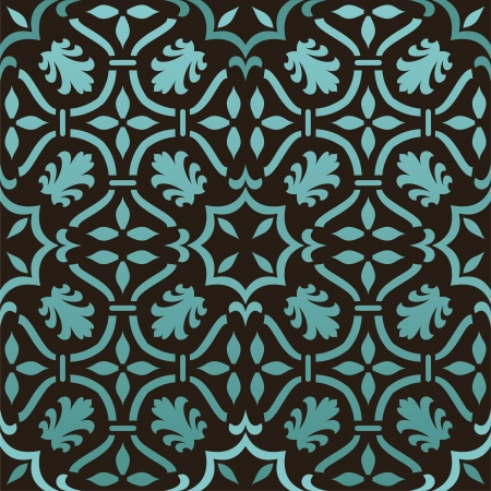 retro wallpaper Stock Vector - 14585831