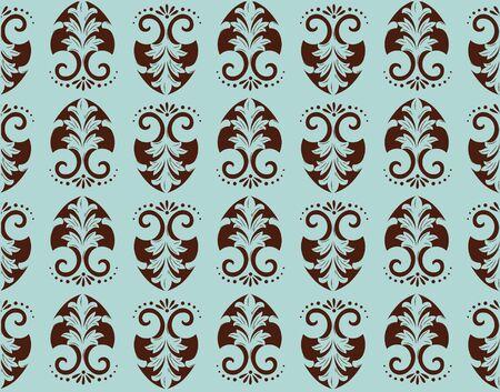 retro wallpaper Stock Vector - 14704960