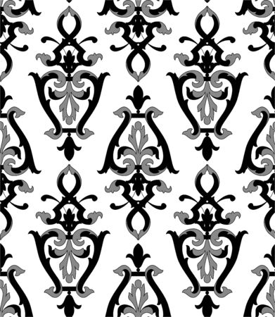 arabesque antique: retro wallpaper