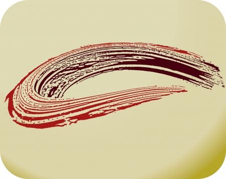 chalk texture: Illustration -  stain background Illustration