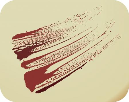 paintbrush spray: Illustration -  stain background Illustration