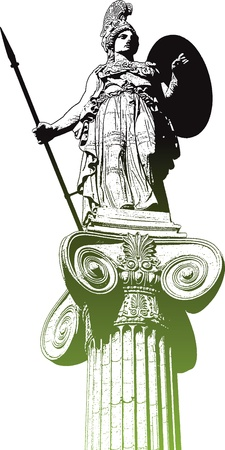 romanesque: retro column