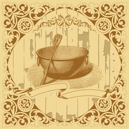 Restaurant card Stock Vector - 19492403
