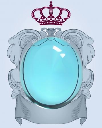 beauty queen: Baroque mirror