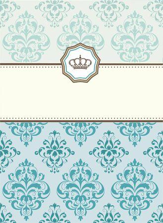 baroque: baroque card Stock Photo