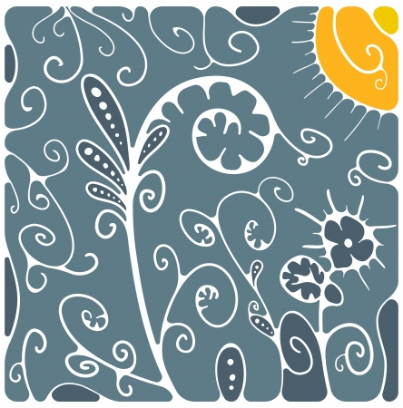 Floral background Stock Vector - 20014369