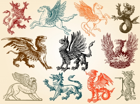 pegasus: Mythical animals