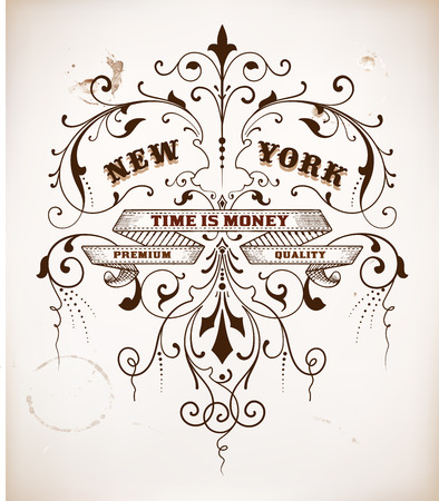 ephemera: Vector Vintage Design
