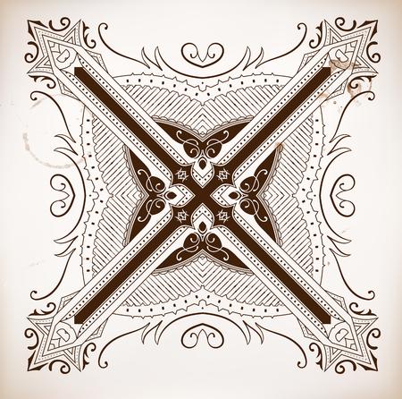 ribon: Design element Illustration