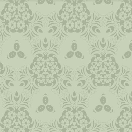 nature pattern: Retro pattern