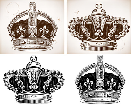 Crowns Stock Vector - 22829101