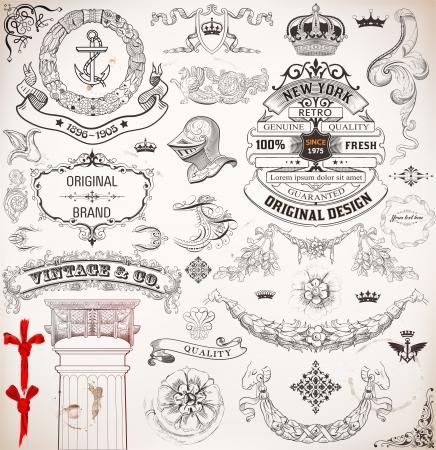 cavaliere medievale: Elementi di design