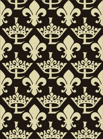 architectonic: royal pattern Illustration