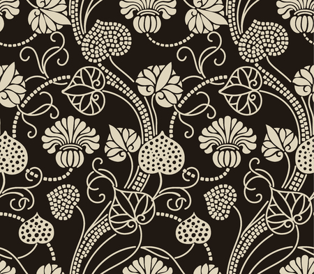 arabesque pattern: Floral pattern