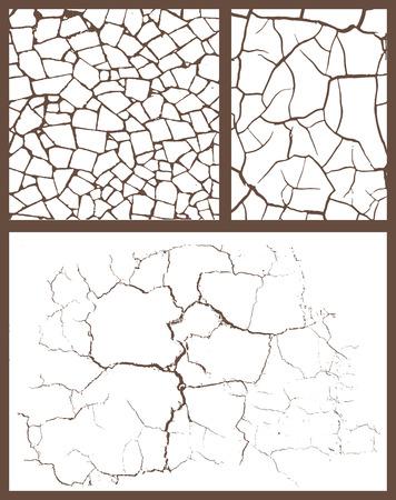 Cracked set