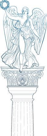 diosa griega: Ángel