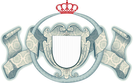 reptil: Royal shield Illustration