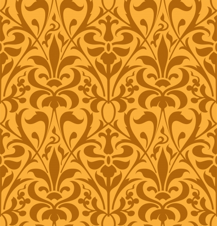 arabesque antique: Floral background