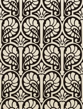 architectonic: Pattern Illustration