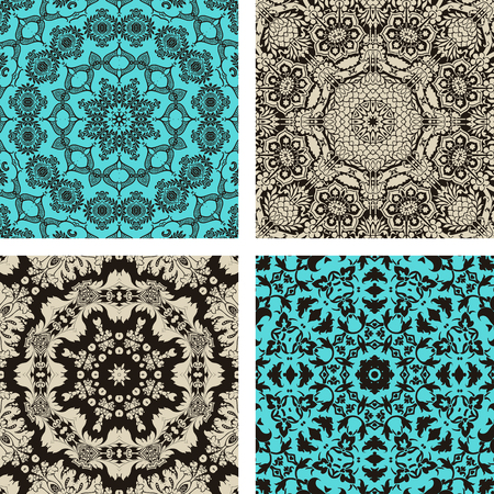 pattern set Stock Vector - 25200003