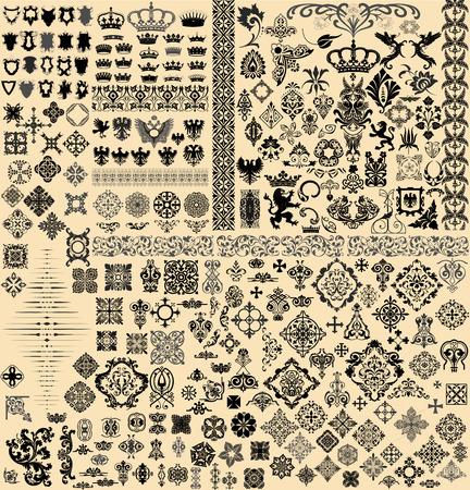 Design elements set Vectores
