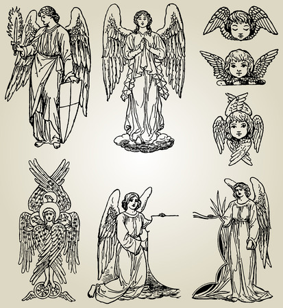 gabriel: angels Illustration