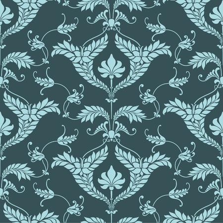 damask background: Damask pattern