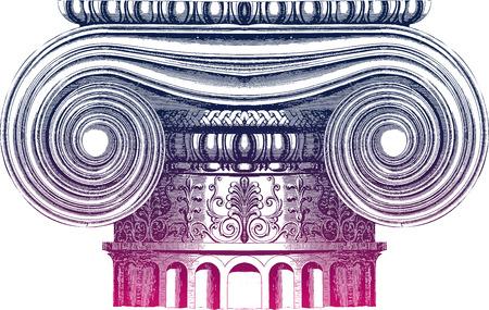 roman empire: Classic column