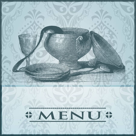 Restaurant card Vector