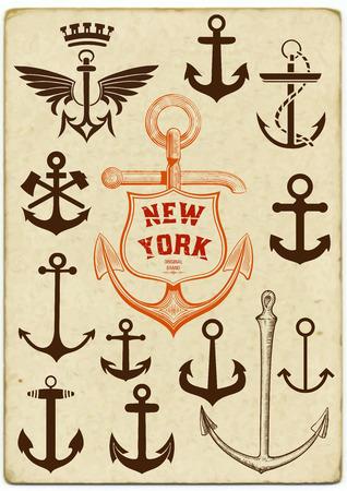 Vector  Set of anchor symbols Vector