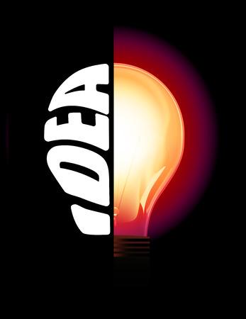 energysaving: Idea Lightbulb