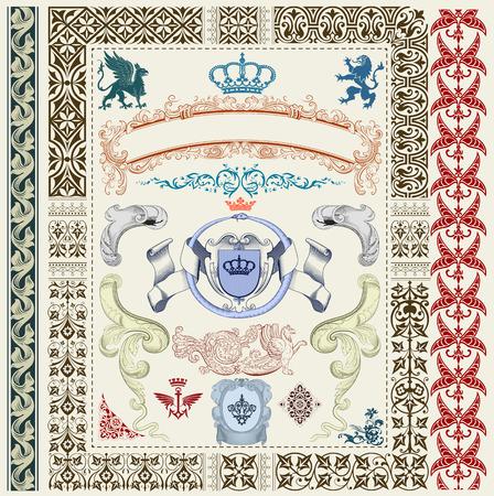 royal set Vector