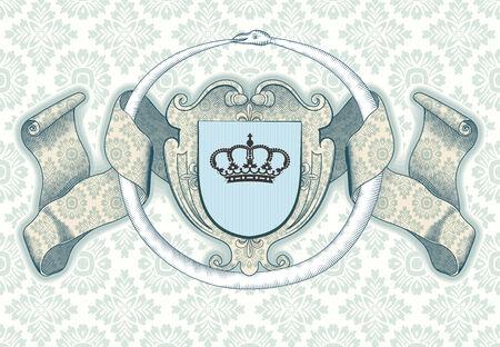 Königliche Hintergrund Standard-Bild - 33663974