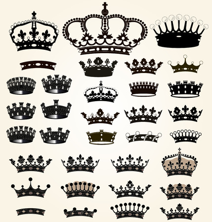 Royal elements Vector